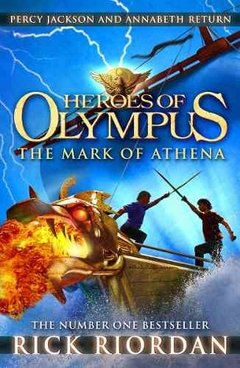 Heroes Of Olympus The Mark Of Athena Inglés