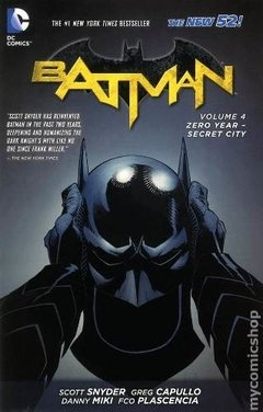 Batman New 52 Vol 4 Tpb Inglés Snyder Capullo