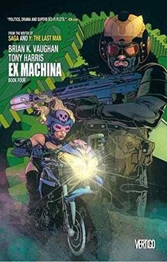 Ex Machina Book Four Tpb Inglés Vaughan