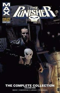 Punisher Max Ennis Complete Collection Vol 1 Tpb Inglés