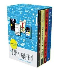 The John Green Collection · The Fault in Our Stars, Looking for Alaska, Paper Towns, An Abundance of Katherines and Will Grayson, Will Grayson (co-written with David Levithan)