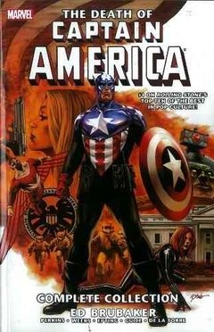 Death Of Captain America Complete Collection Tpb Inglés