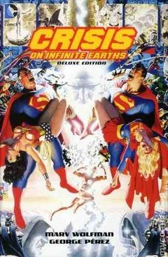 Crisis On Infinite Earths Deluxe Edition Hc Inglés Wolfman