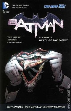 Batman New 52 Vol 3 Tpb Inglés Snyder Capullo Joker