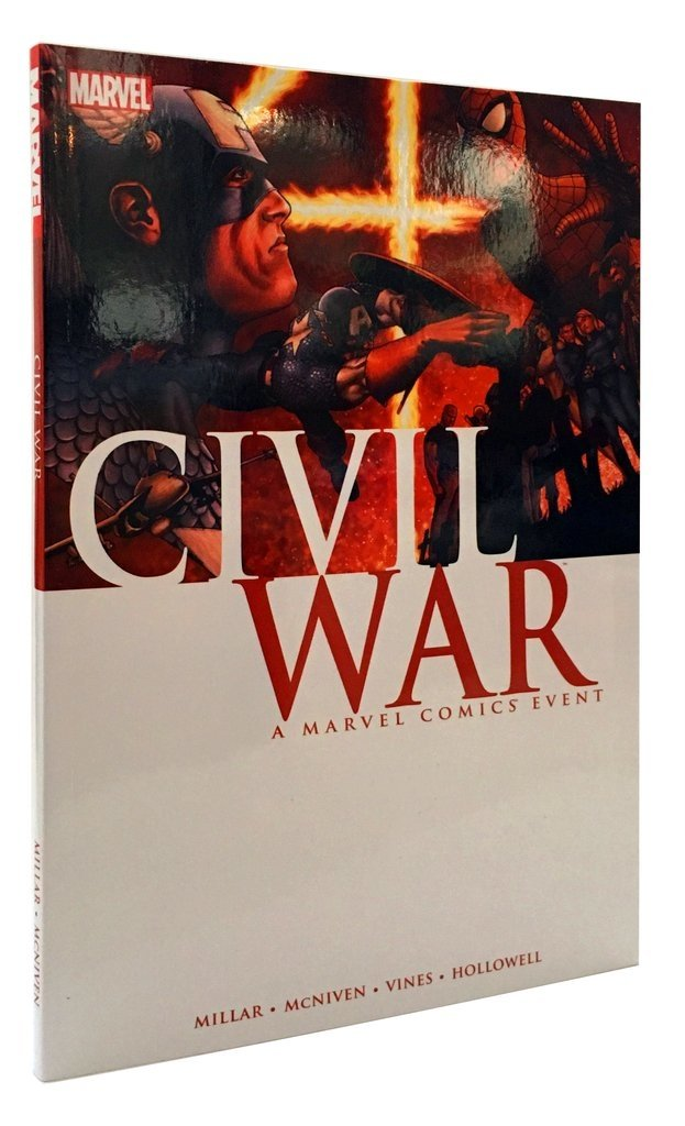 CIVIL WAR - Mark Millar y Steve McNiven