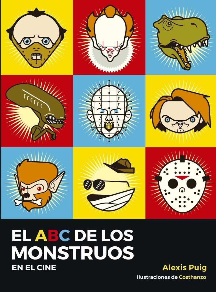 Resultado de imagen de El ABC de los Monstruos del Cine, con Alexis Puig