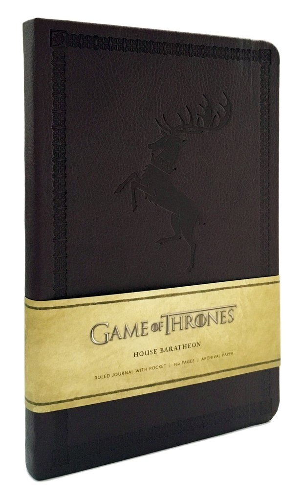 GAME OF THRONES - HOUSE BARATHEON - Ruled Journal - comprar online