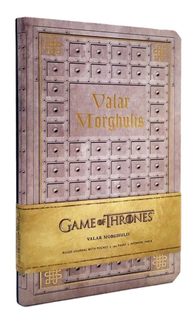 GAME OF THRONES - VALAR MORGHULIS - Ruled Journal - comprar online