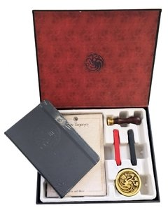 GAME OF THRONES: HOUSE TARGARYEN STATIONERY SET DELUXE - Del Nuevo Extremo