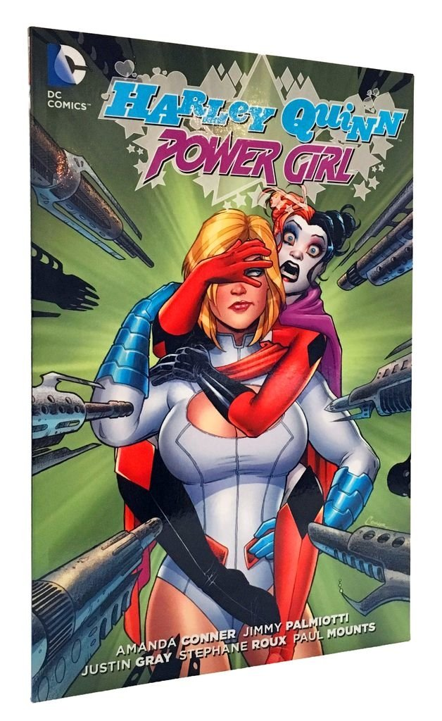 HARLEY QUINN AND POWER GIRL - comprar online