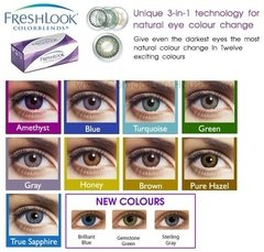 CIBA VISION FRESH LOOK COLOR BLEND - comprar online