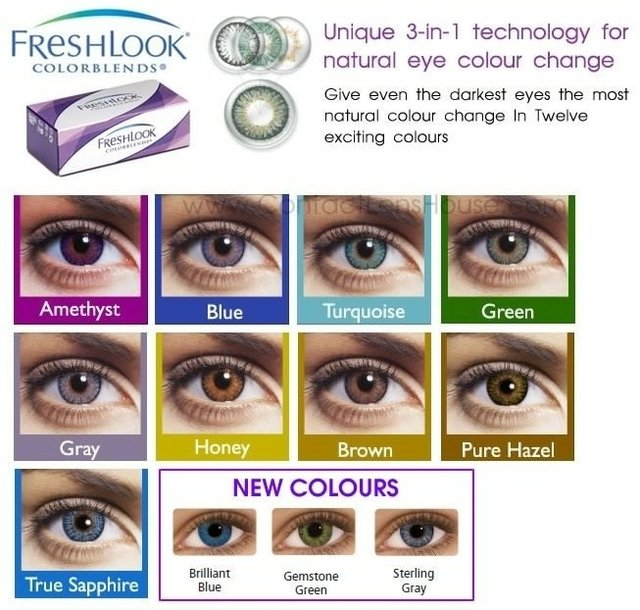 8a8b3f29b2 CIBA VISION FRESH LOOK COLOR BLEND - Optica Francoise