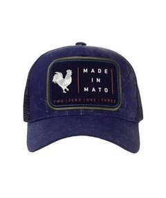 Boné Made in Mato Trucker - Outside Blue