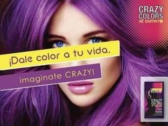 Coloracion Semipermanente Issue Crazy Colors Pack 5 Unidades en internet