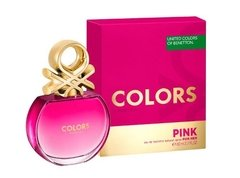 Colors Pink De Benetton Edt 80ml Para Mujer