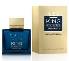 King Of Seduction Absolute De Antonio Banderas Edt 50ml Men
