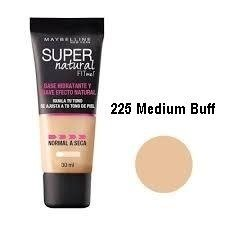 Base Suave Ligera Maybelline Super Natural Piel Normal Seca