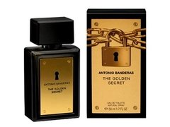 The Golden Secret Antonio Banderas Edt 50ml Para Hombre