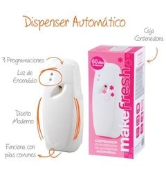 Aromatizador Automatico + Fragancia Make Fresh A Eleccion en internet