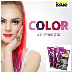 Coloracion Semipermanente Issue Crazy Colors Pack 5 Unidades - Tienda Ramona