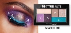Paleta De Sombras Maybelline City Mini Palette Graffiti Pop - Tienda Ramona