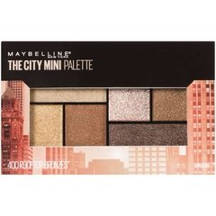 Maquillaje Paleta Sombras Maybelline The City Mini Palete X2 en internet