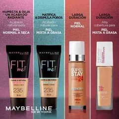 Base Maquillaje Maybelline Superstay 24hs Full Coverage