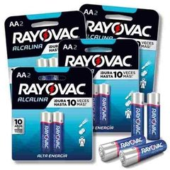 Pilas Alcalinas Aa Rayovac Pack 12 Pilas Ideal Hoteles