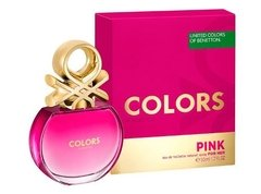 Colors Pink De Benetton Edt 50ml Para Mujer