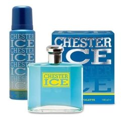 Chester Ice Eau De Toillete 100ml + Desodorante Para Hombre