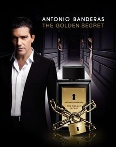 The Golden Secret Antonio Banderas Edt 50ml Para Hombre - Tienda Ramona