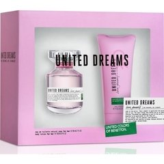 Perfume Benetton United Dreams Love Yourself 80ml + Locion