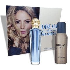 Shakira Dream Eau De Toilette Spray 80ml + Desodorante