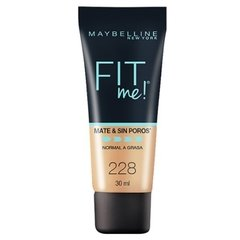 Base Maquillaje Matificante Maybelline Fit Me Piel Mixta en internet