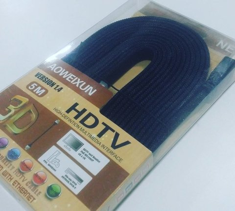 Cable 3d Version 1.4 Hdmi A Hdmi 5 Metros Bp-5 Aoweixu na internet