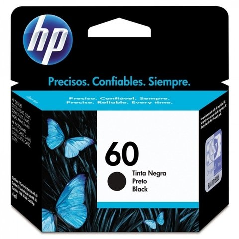 Cartucho Hp 60 Preto 4,5ml Cc640wb
