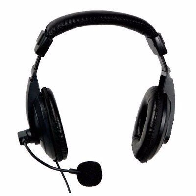 Headfone Rio Preto Cd-750mv P2 Ideal Para Skype - comprar online