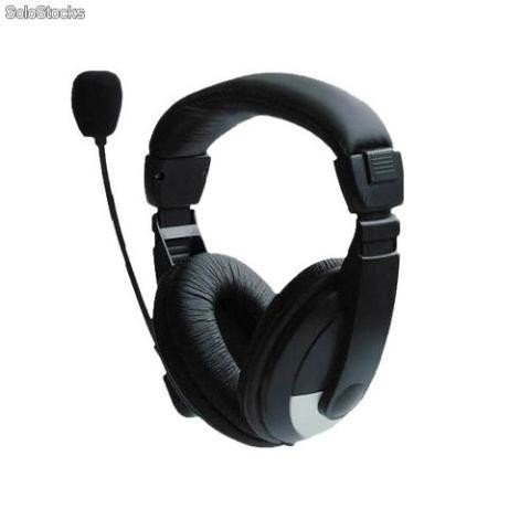 Headfone Rio Preto Cd-750mv P2 Ideal Para Skype