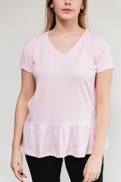 Remera con volado Sweet (7415) en internet