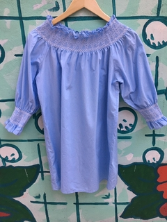 Vestido Zara Light Blue (20342) - BUNKERBSAS