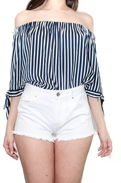 Short blanco H&M (7875)