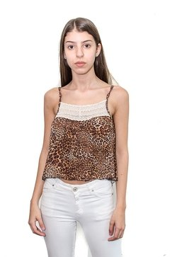 Top Animal Print Las Pochis (9819)