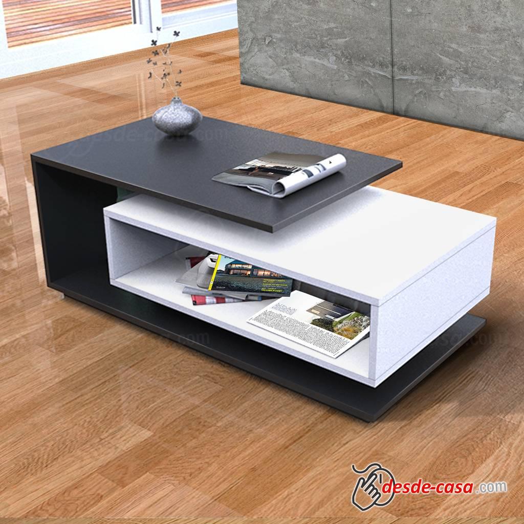 Mesa ratona de centro dise o moderno exclusivo for Mesas bajas de diseno