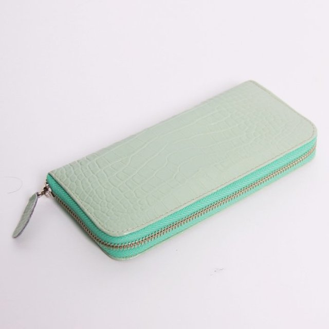 Billetera Fresia Mint Charol