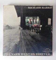 Sebo Ponto de Cultura - LP - Richard Harris ‎– The Yard Went On Forever... (1968)