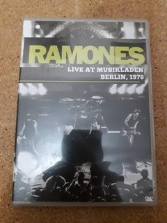 Dvd Ramones - Live At Musikladen Berlin, 1978