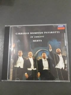 Cd Carreras - Domingo - Pavarotti - In Concert Mehta