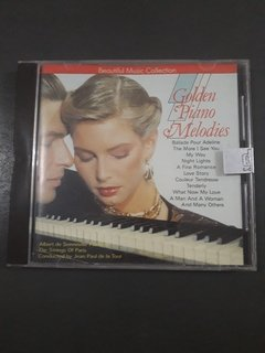 Cd Golden Piano Melodies - Beautiful Music Collection