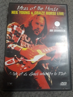 Dvd Year Of The Horse Neil Young & Crazy Horse Live