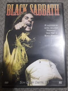 Dvd Black Sabbath 15 Sucessos Do Metal
